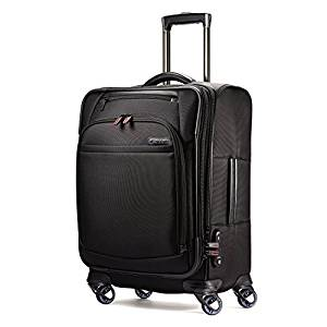Samsonite Pro 4 Dlx Trolley Espandibile 21, Nero