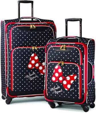 American Tourister Disney Softside Spinner Set bagagli