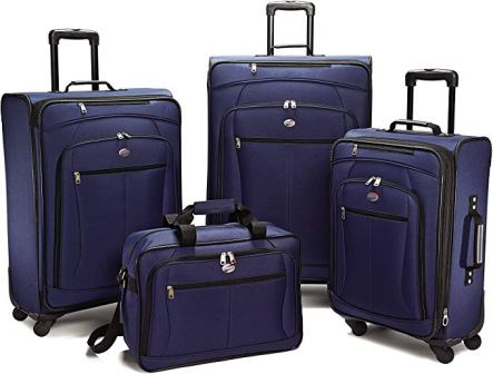 Set di 4 valigie American Tourister Pop Extra Spinner