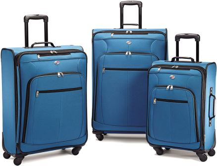 Set valigie American Tourister Pop Max Softside 3 pezzi