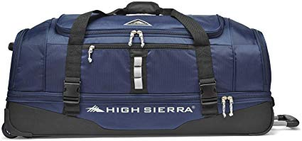 High Sierra Pathway 36-Inch Wheeled Drop-Bottom Duffel