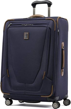 Travelpro Luggage Crew 11 Valigia da spinner espandibile da 25 ″ con suiter