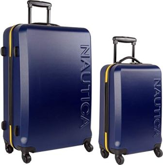 Nautica Ahoy Carry On Luggage-20 Inch Spinner Wheels Valigia