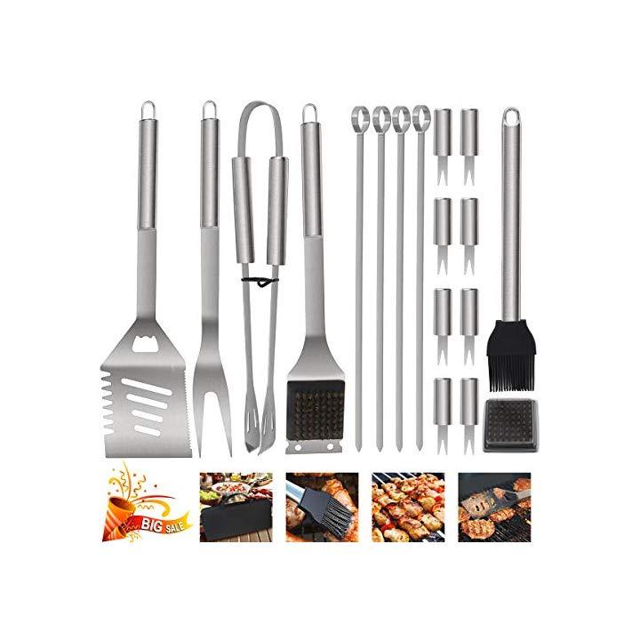 accessori da cucina 2 pezzi Rete quadrata per barbecue per esterni in acciaio inox Chch per barbecue e barbecue